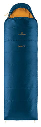 Ferrino Lightec Shingle SQ Sac de Couchage Mixte, Bleu, Taille Unique