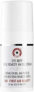 First Aid Beauty Eye Duty Triple Remedy AM Gel Cream, 0.5 oz