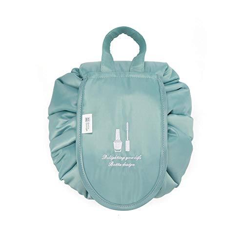 Sac à cosmétiques Paresseux Femmes Voyage ménage Grande capacité étanche Stockage Portable Sac à Cordon tas de Poche-Sky_Blue_43 * 43cm