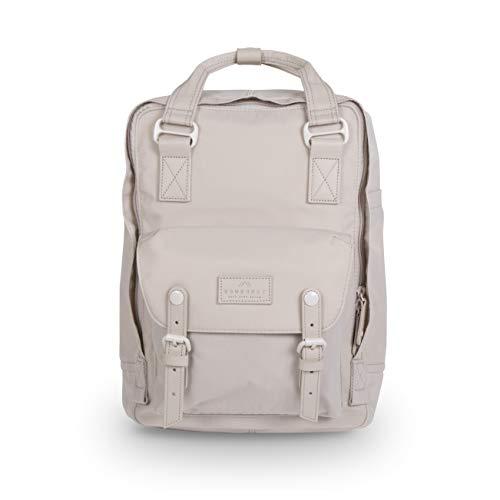 Doughnut Macaroon Pastel Series 16L Travel School Ladies College Girls Lightweight Commuter Casual Daypacks Bag Backpack (Stone)