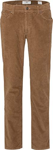 BRAX Herren Style Cooper Fancy Five-Pocket Cord-Qualität Hose, Beige, 33/34