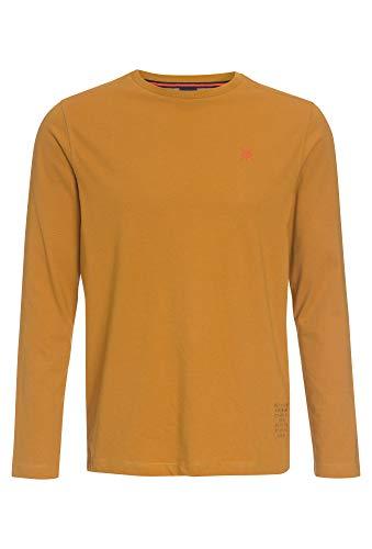 LERROS T-Shirt/Serafino 1/1 ARM, braun(chaitee (533)), Gr. XXL