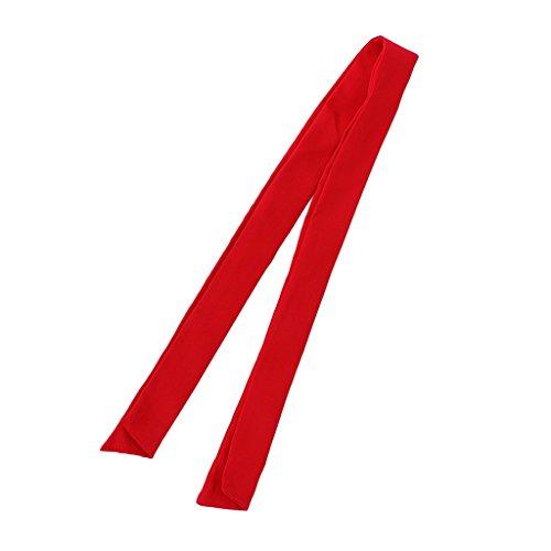 MagiDeal Asciugamano Da Collo Fazzoletto Cuoco Abbigliamenti Cameriere per Cucina Ristorante - Rosso, 100 × 3,5 × 7 cm