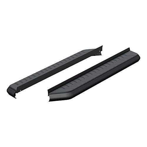 ARIES 2051967 AeroTread 67-Inch Black Stainless Steel SUV Running Boards, Brackets Sold Separately