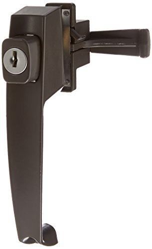 Wright Products VK333X3FB KEYED TIE-DOWN PUSH BUTTON Handle, FLORIDA. BRONZE