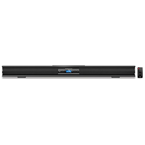 Innovative Technology Low-profile 37-Inch Bluetooth Stereo Soundbar