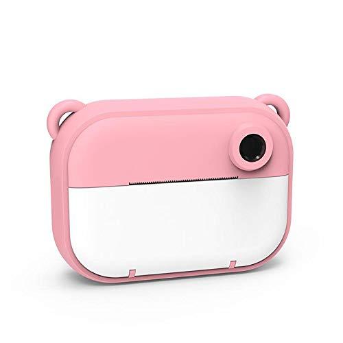 The Zoofamilie Sofortbildkamera für Kinder | 3 in 1 Schwarzweiß-Sofortdruck + Digital Mini 12MP mit 16 GB MicroSD-Kinderkamera und stoßfester Videokamera für Kinder - Bears Pink drucken