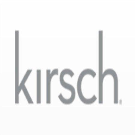 """21/2""""Deep ampliable Continental Barras de cortina desde Kirsch"""