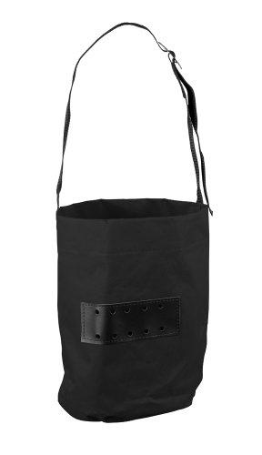 Pfiff 005072 Futtersack mit Halsriemen, schwarz