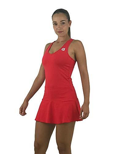 a40grados Sport & Style, Vestido Victory Rojo, Mujer, Tenis y Padel (Paddle)...