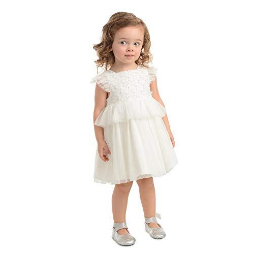 PIPPA & JULIE Delilah White Peplum Dress
