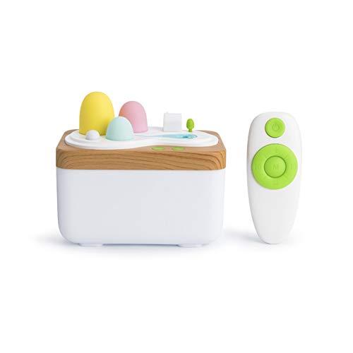 LIERSI 420Ml Aroma Essential Oil Diffuser Portable Ultraschall Aroma Kühle Nebel Humifidier Mit LED Leuchten, Timer Einstellungen, Wasserlos Auto Abschaltung