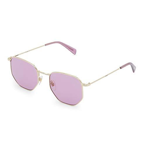 LEVI'S EYEWEAR Unisex-Kinder LV 1004/S Sonnenbrille, Rose Gold, 51