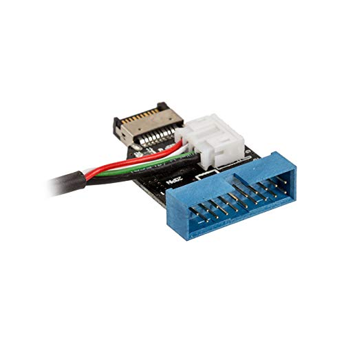 Akasa AK-CBUB38-40BK - Cable Adaptador USB 3.1 Gen-2 a Gen-1