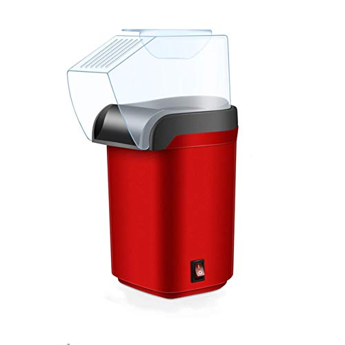 Great Features Of Ss Popcorn Machine: Hot Air Popcorn Popper + Popcorn Maker with Measuring Cup to M...