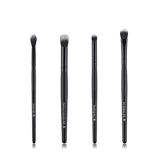 GBY Pinceaux de maquillage de qualité supérieure Kabuki Cosmétiques de fond de teint Blush Eyeliner Face Poudre Maquillage, Fibre synthétique., 02, Free