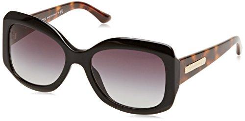 Giorgio Armani Damen AR8002 Sonnenbrille, Schwarz (Black Grey Gradient 50178G), One size (Herstellergröße: 55)