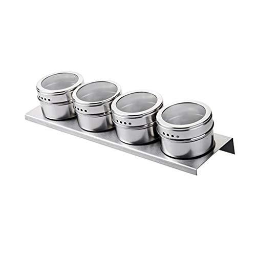 Roestvrij stalen kruidpotten, keuken Spice Box kruiden, pot Meerdere toepassingen Roestvrij staal Barbecue Cruet Pepper Sauce Jar Chili Poeder opslag fles