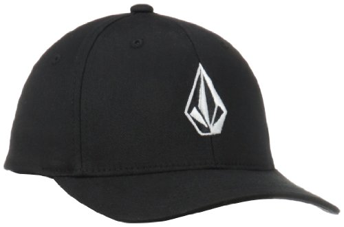 Volcom Jungen Schildmütze Full Stone X Fit Hat Cap, Black, One Size