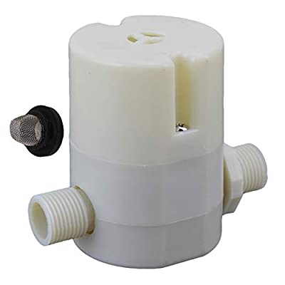 "Automatic 1/2"""" Water Level Control Valve Water Tank Water Float Valve by BQLZR"