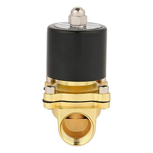 Válvula solenoide para el desgaste de la válvula de agua eléctrica NC válvula solenoide normalmente cerrada, válvula de líquido eléctrica, equipo eléctrico