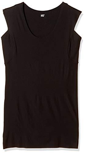 [グンゼ] スリーブレスシャツ YG Tシャツ専用 in.T(インティー) CUT OFFシリーズ 汗パット メンズ ブラック 日本 M (日本サイズM相当)
