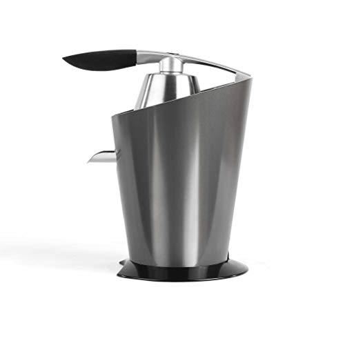 Livoo DOD16 - Exprimidor eléctrico de acero inoxidable, silencioso potente, rotación lenta,...
