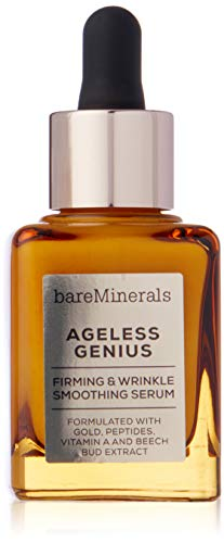 BareMinerals Ageless Genius Firming and Wrinkle Smoothing Serum, 1 Ounce