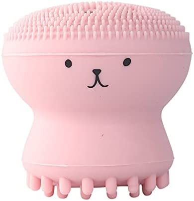 Venuy Sacramento Mall 2pcs Silicone Small Octopus Cleansing Brushes Lowest price challenge Face Facial