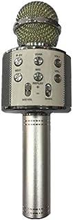 WS-858 Wireless Karaoke Handheld Microphone USB KTV Player Bluetooth - Silver