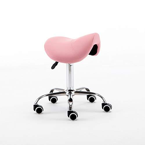 SXFYWYM Draaistoel, kappersstoel, draaibaar, comfortabel, in hoogte verstelbare beauty salon stoel computer stoel