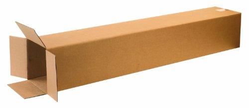 Aviditi 8848 Tall Corrugated Box, 8' Length x 8' Width x 48' Height, Kraft (Bundle of 20)