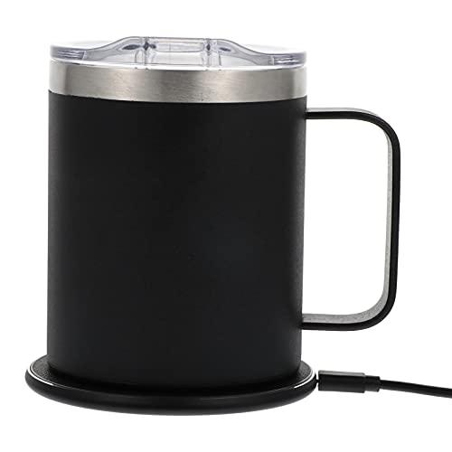 SOLUSTRE Ekspres Do Kawy Kubek Cieplej Kubek Kawy Cieplej Termostat Ze Stali Nierdzewnej Kubek 300ML