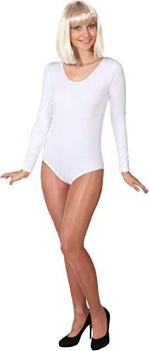Preisvergleich Produktbild Kostüm Body weiß Langarm (S / M)