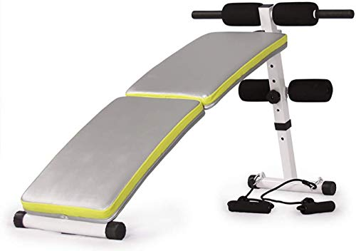 DSHUJC Oefenbank, Druk Verstelbare Opvouwbare Halterbank Thuis Training Gym Gewichtheffen Oefening Workout Bank