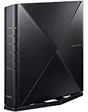 NEC 無線LAN WiFi ルーター Wi-Fi 6(11ax)/AX3600HP Atermシリーズ 4ストリーム (5GHz帯 / 2.4GHz帯) AM-AX3600HP