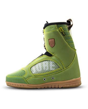 Jobe Morph - Sneakers Evo con attacchi per Wakeboard, Unisex, 396817004-10, Verde, 10