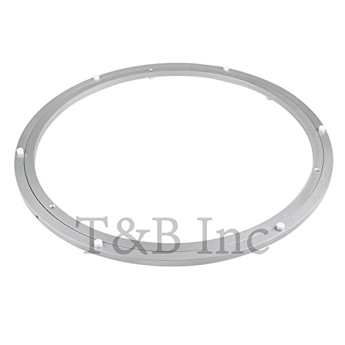 TamBee 600mm Lazy Susan 24 Inch Aluminum Bearing Metal Rotating Turntable Bearings Swivel Plate Hardware for Dining-Table