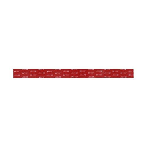 BONNE CUISINE Original Magnetleiste/Messerleiste mit hochwertigem Schutz aus Silikon in schwarz für kratzfreie Küchenmesser - 3M VHB Klebeband - Doppelseitiges Klebeband 39cm x 3cm