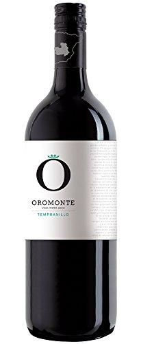 6x 1,0l - 2017er - Oromonte - Seco - Vino de Mesa - Spanien - Rotwein trocken