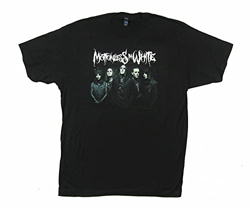 Motionless in White Group Photo 5 Black T Shirt