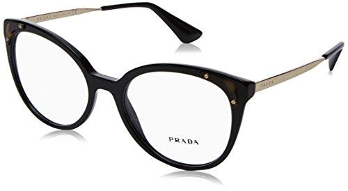 Prada Damen 0PR 12UV Brillengestell, Schwarz (Black), 66