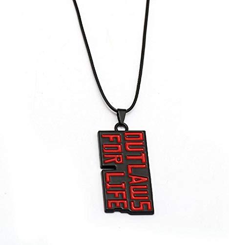 CCXXYANG Co.,ltd Collar Juego Reddead Collares para Hombres Joyas Collar De Mujeres Hombre Femme Collier Regalo