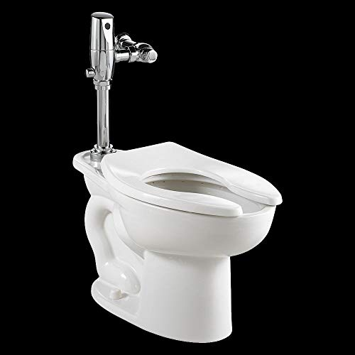 American Standard 3461.660.020 Madera ADA Universal Floor Mount Toilet Bowl with Everclean and 1.6 Gpf Selectronic Flush Valve