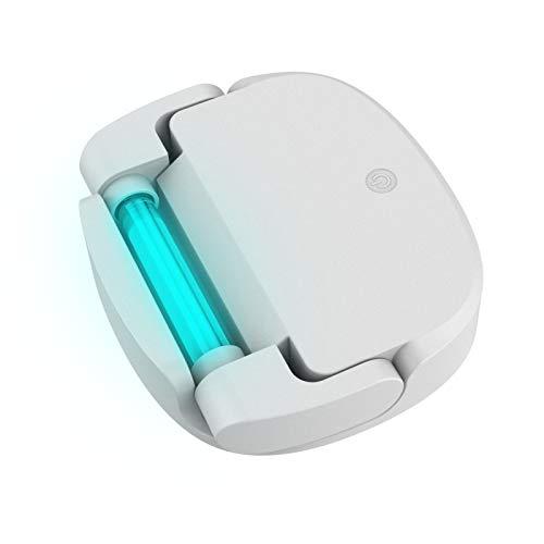 BIOBEY Máquina Limpiadora De Esterilización Personal, Esterilizador De Temporización UV Multifuncional para El Hogar para Inodoro, Gabinete De Zapatos, Juguetes, Herramientas De Salón