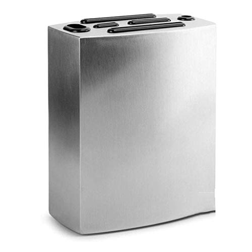 ZYING Acero Inoxidable Cuchillo de Cocina de Almacenamiento en Rack - Rack de Cuchillo de Cocina de Almacenamiento