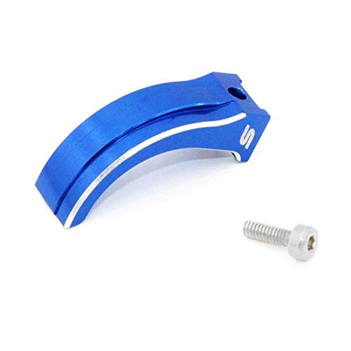 HONG YI-HAT Throttle Trigger Arm Brake Rod for Futaba 7PX 4PX 4PXR RC Car Transmitter B Radio RC Car Spare Parts (Color : Blue)