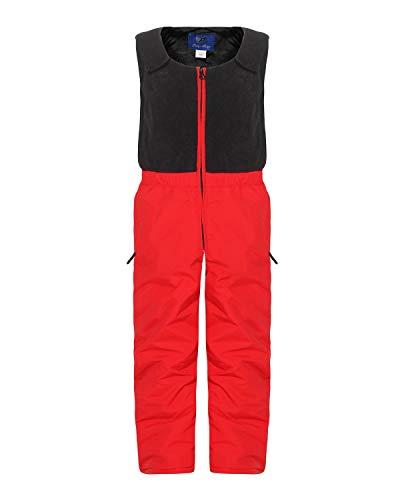 ZARMEXX Pantaloni da Sci e Snowboard per Bambini con Fodera e Fodera in Pile