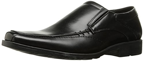 Kenneth Cole REACTION Men's Slick Deal Slip-On Loafer, Black, 11 M US