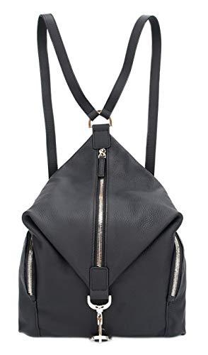 Fedon 1919 Olimpia Women S Backpack In Leather Wz1930001 Black